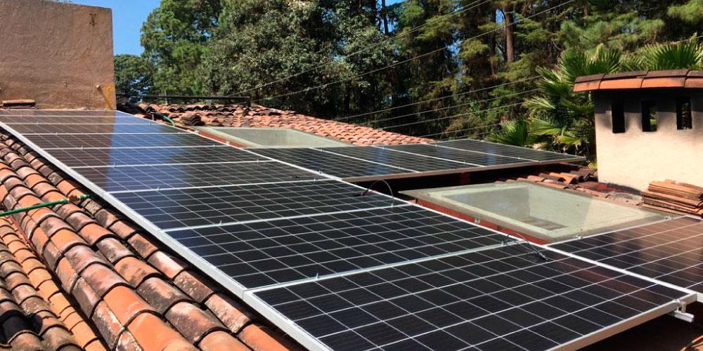Venta e instalación de <br> paneles solares